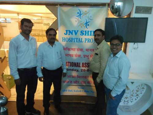 Meeting with JNV Shine Health Care Society Supporters